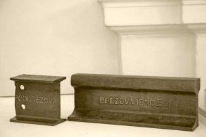 Koľajnice tvorili hlavný výrobný program novej valcovne v Podbrezovej