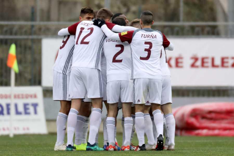 So Sereďou sme viedli 1:0 a boli sme na ihrisku lepším tímom, nakoniec sme sa museli uspokojiť s bodom za remízu. Foto: I. Kardhordová