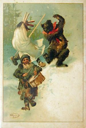 Ilustračná kresba sviatku Kračún