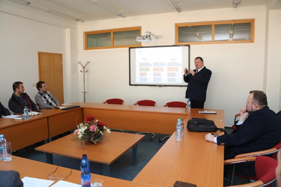 Zahraničný partner prezentoval výsledky spolupráce na výskumných programoch ŽP VVC na jeho pôde po prvýkrát v histórii.