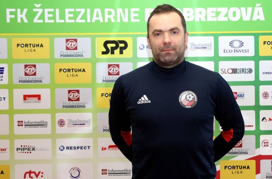 Vladimír Veselý v roku 2006 pôsobil v Podbrezovej ako hráč. Foto: I. Kardhordová