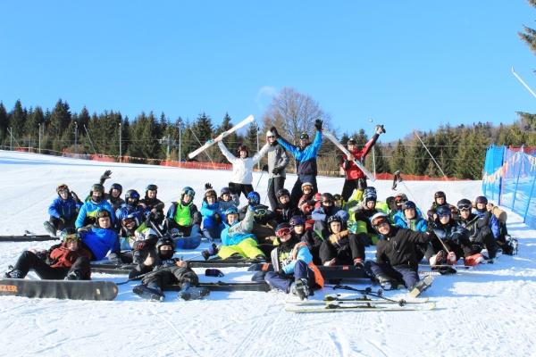 Žiaci SSOŠH ŽP na lyžiarskom výcviku v Ski Tále