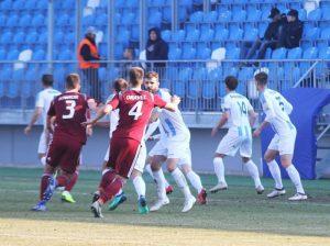 Úvodný zápas jarnej časti nám vyšiel výborne a z Nitry si odnášame tri body. Foto: Samuel Mečiar