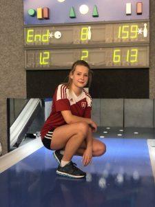 J. Kičinková si výkonom 613 bodov utvorila nový osobný rekord