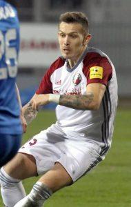 Filip Hlohovský, strelec nášho jediného gólu proti Nitre. Foto: I. Kardhordová
