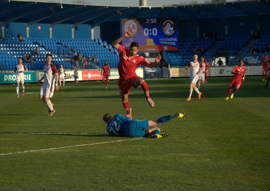 Brankár Martin Vantruba podal spoľahlivý výkon a gól nedostal.