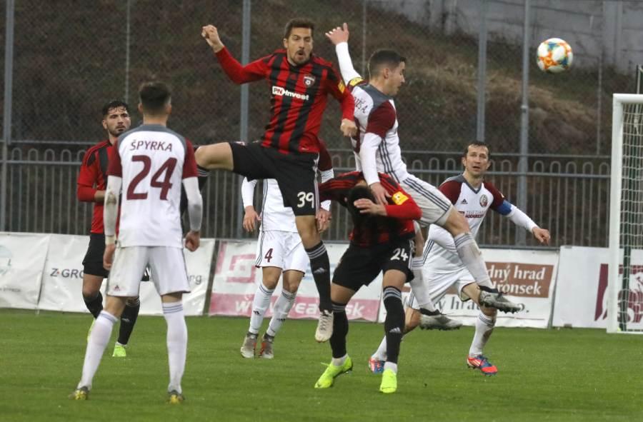V domácom zápase s Trnavou gól nepadol. Foto: I. Karhordová