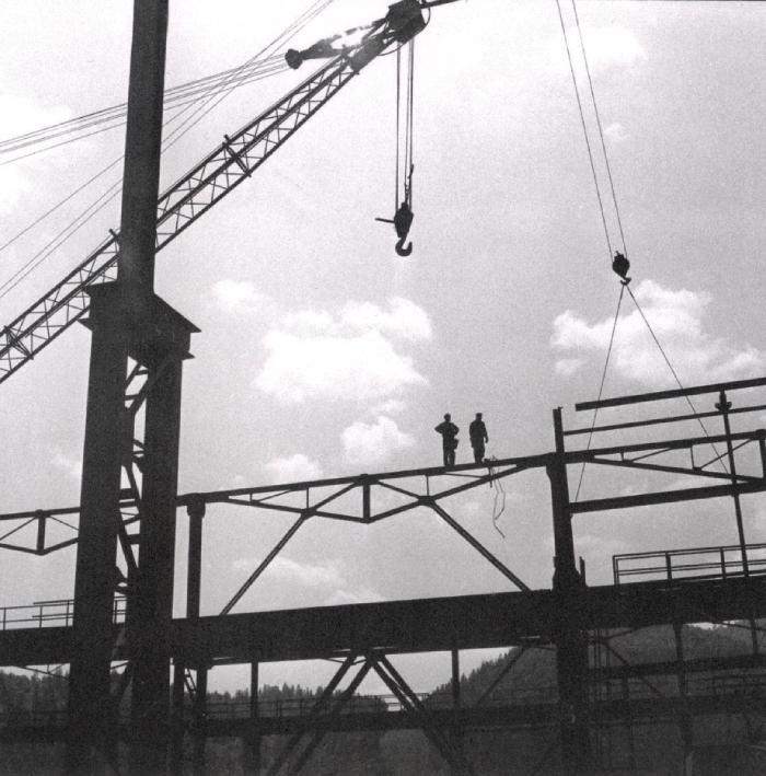 Výstavba valcovne začala už v roku 1974.