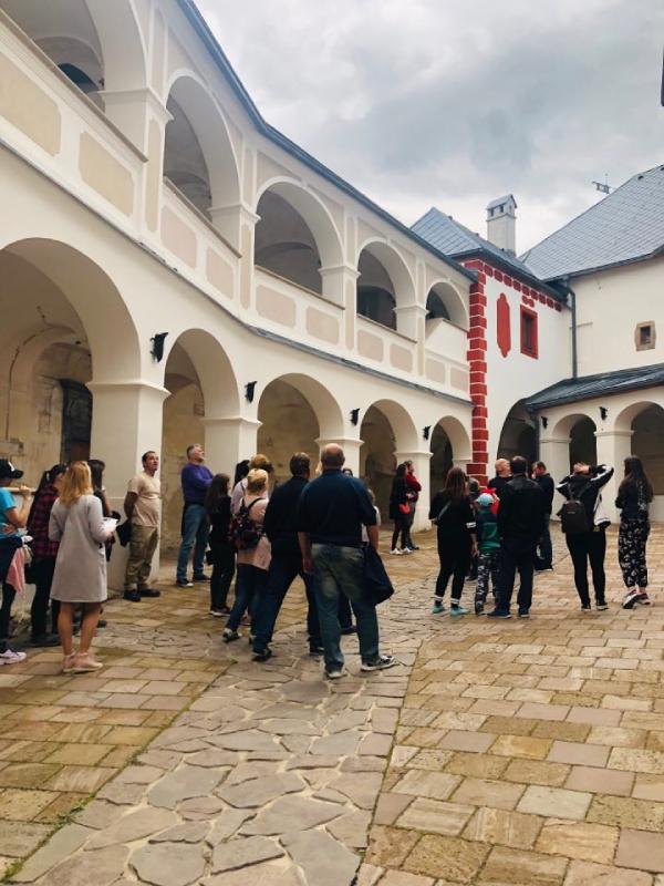 Počas Turíčneho jarmoku je návštevnosť hradu vyššia