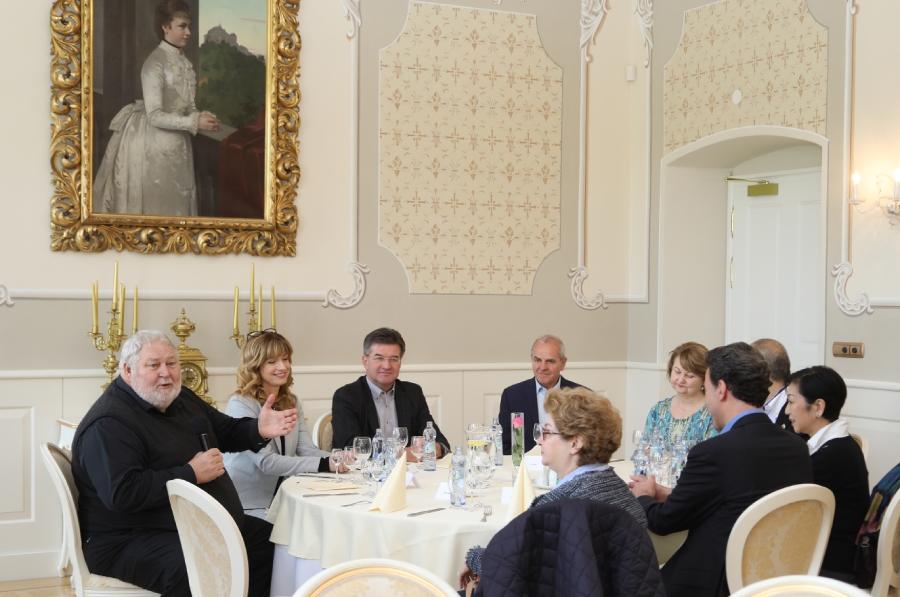 Gizelina sála patrí na hrade Ľupča k jednej z najkrajších