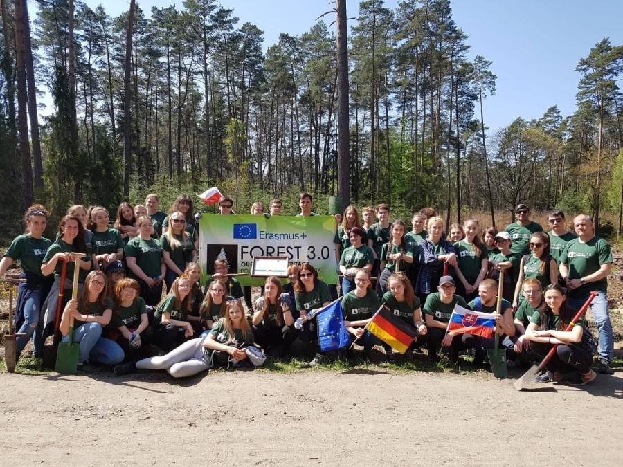Účastníci projektu Les 3.0 - naše prírodné dedičstvo
