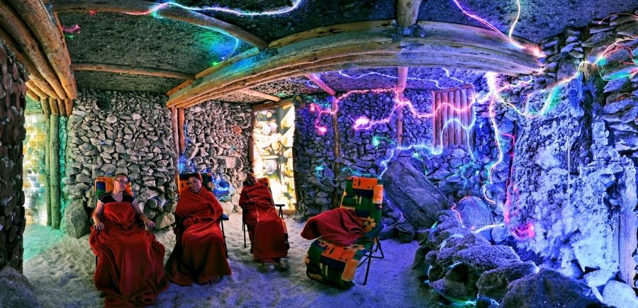 V rámci pobytu ZDRAVÝ VÍKEND môžete využiť aj soľnú jaskyňu