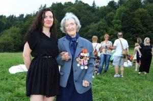 Erika Mészarosová s Boženou Palackou objektívom I. Kardhordovej