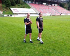Jozef Mores a Martin Poljovka viedli naše mužstvo už v zápase proti Dubnici nad Váhom
