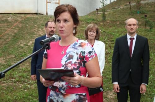Riaditeľka SSOŠH ŽP Ing. Miriam Pindiaková objektívom A. Nociarovej