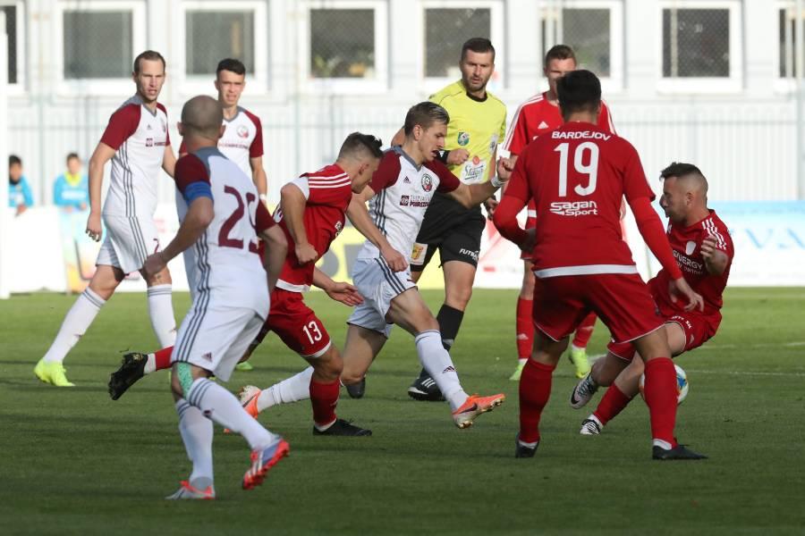 V zápase s Bardejovom sme si víťazstvo zariadili až v posledných minútach. Foto: A. Nociarová