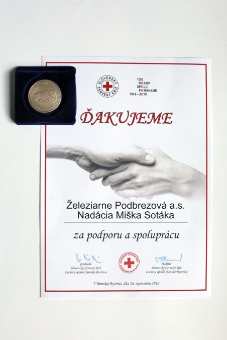 Foto ocenenia objektívom I. Kardhordovej