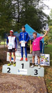 Timotej Piliarkin získal bronz