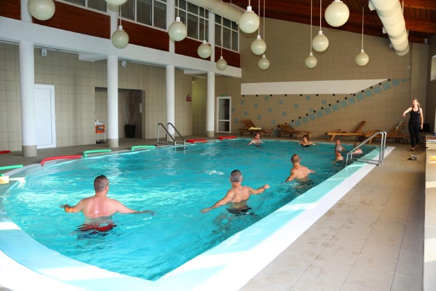 Cvičenie v bazéne