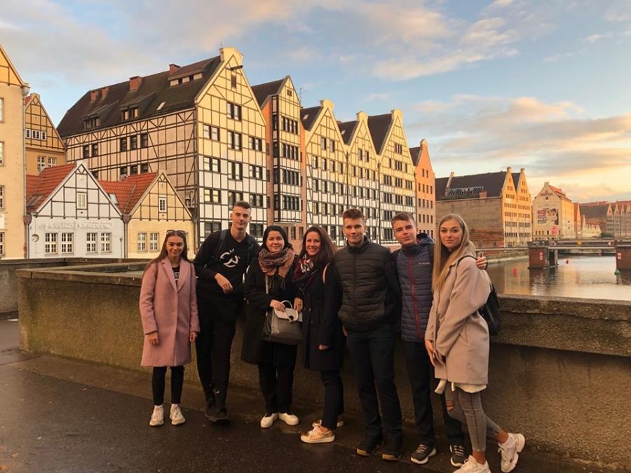 Mesto Gdańsk našich žiakov očarilo