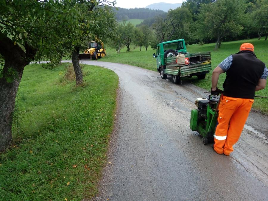 Oprava prístupovej cesty
