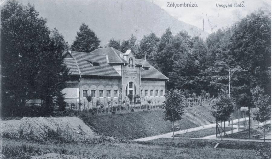 V Podbrezovej bol v roku 1900 postavený kúpeľný dom, ktorý slúžil robotníkom na pravidelnú očistu. Foto: archív redakcie