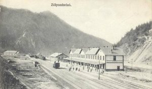 Prvá železničná stanica v Podbrezovej bola vybudovaná v čase stavby trate Banská Bystrica – Podbrezová, v roku 1883.  Foto: archív redakcie