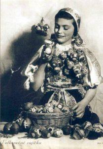 Veľká noc v roku 1941. Foto: Horehronský etnografický kaleidoskop