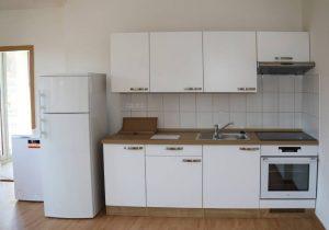 Každý byt má plne vybavenú kuchyňu. Foto: I. Kardhordová