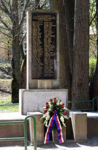 Deväťdesiatosem zamestnancov podbrezovských železiarní sa nevrátilo po oslobodení Podbrezovej na svoje miesto. V národnooslobodzovacom boji položili svoje životy a my na nich spomíname s úctou. Foto: I. Kardhordová