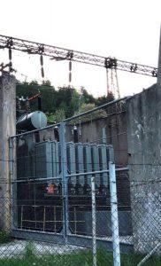 Transformátor 110 kV / 6 kV starý závod