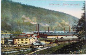 Pohľad na Štátne železiarne a oceliarne na Slovensku v Podbrezovej. Foto: archív redakcie