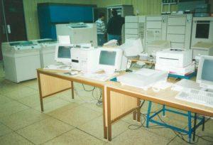 Takto to vyzeralo na začiatku. Foto: archív ŽP Informatika