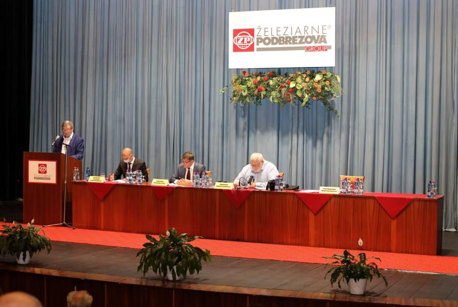 Valné zhromaždenie objektívom I. Kardhordovej