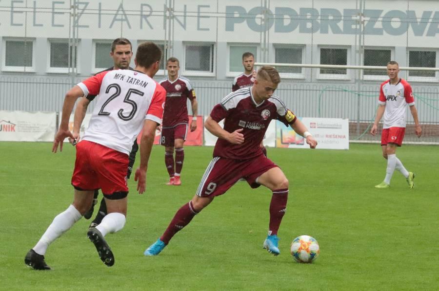 Roland Galčík bol aktívny v obidvoch zápasoch, no gól sa mu streliť nepodarilo