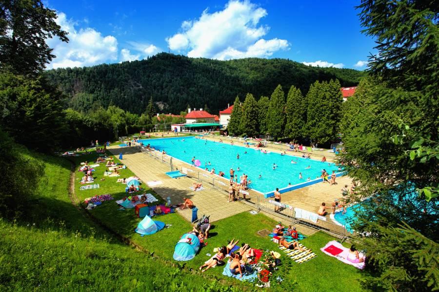 Kúpalisko v Podbrezovej je počas leta otvorené každý deň, samozrejme len v prípade priaznivého počasia. Foto: A. Nociarová