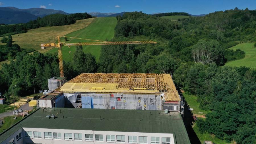 Rekonštrukcia strechy na budove školy