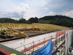 Cez leto bola zrealizovaná kompletná rekonštrukcia strechy