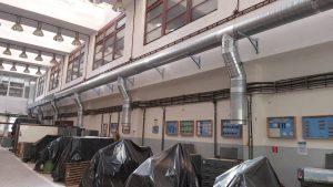 Rekonštrukcia vzduchotechniky a rozvodov tepla