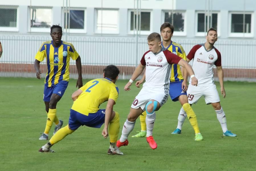 Roland Galčík strelil Skalici tri góly, aktívny bol aj proti Trebišovu. Foto: I. Kardhordová