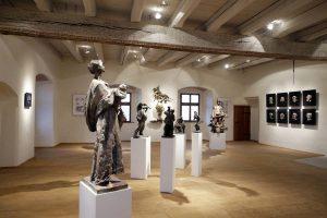 Pohľad do stálej expozície J. Kulicha objektívom A. Nociarovej