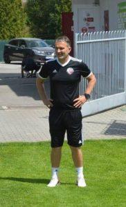 Nový tréner Roman Skuhravý na prvom tréningu