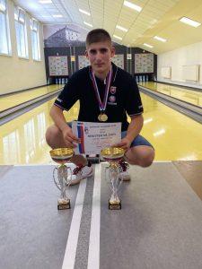 Erik Gallo sa stal majstrom Slovenska v kategórii juniorov do 23 rokov